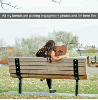 💞🍕💞: All my friends are posting engagement photos and l'm here like 💞🍕💞