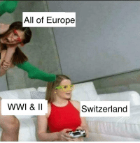 all of europe wwi ii switzerland europe meme on me me