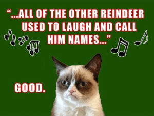 "What's your favorite Christmas song? - Ars Technica OpenForum: ""...ALL OF THE OTHER REINDEER  USED TO LAUGH AND CALL  HIM NAMES...""  GOOD. What's your favorite Christmas song? - Ars Technica OpenForum"