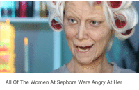 "Target, Tumblr, and Blog: All Of The Women At Sephora Were Angry At Her stagerevolution: thehuskinbee:  enoughtohold: i think this is my favorite tumblr ad so far She just goes there to knock everything off the shelves  Debra ""The Bulldozer"" Johnson"