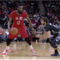 James Harden, Memes, and 🤖: All r NeverForget when James Harden sauced up Ricky Rubio.. 🔥👀