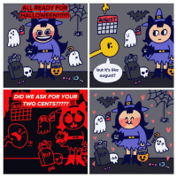 It's spooky all year in my heart (@itsjo) . . . summercoven halloween2018 ghoststory fetchmybroom webcomic: ALL READY FOR  HALLOWEEN!!!  AUGUST  D.O  ( RtP  but it's like  august?  DID WE ASK FOR YOUR  TWO CENTS?????  AUG  っ  vつ  RIP  RIP It's spooky all year in my heart (@itsjo) . . . summercoven halloween2018 ghoststory fetchmybroom webcomic