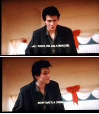 Fucking, Target, and Tumblr: -ALL RIGHT, WE DID A MURDER.   NOW THAT'S A CRIM nitrosplicer: best fucking quote in heathers