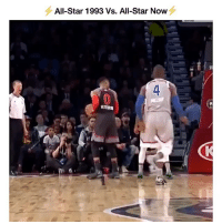 Should the NBA try to change it back? @ballpedia Tags: AllStar Russ Scottie: All-Star 1993 Vs. All-Star Now  ST  4 Should the NBA try to change it back? @ballpedia Tags: AllStar Russ Scottie