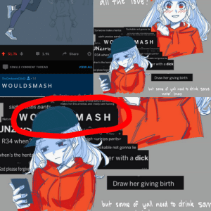 Clothes, Fucking, and Hentai: all Th  Fuckable not gonna lie  Someone make a hentai.  ow it's only a matter of time before someone  makes her into a hentai, and I really cant fucking  sigh unzins pants  WO  MASH  Not my  UNZIPS  nit would be better without clothes  Reply  51.7k  Share  1.9k  igh <unzips pants>  R34 when?  uckable not gonna lie  when's the henta  er with a dick  VIEW ALL  SINGLE COMMENT THREAD  od please forgive  Draw her giving birth  ThrOmbosisDUd3 1d  WOULDSMASH  but sevme of yall need to drink some  water Imao  Danlu  natter of time before some  makes her into a hentai, and I really cant fucking  sig  MASH  WO  Not m  UN2  Reply  igh <unzips pants>  R34 when?  ckable not gonna lie  vhen's the hent  er with a dick  Eod please forgive  Draw her giving birth  Wi  but sovme of yoall need to drink son GuYs LoOk,I'M fAmOuS! :  )