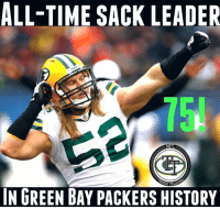 Congrats to Clay Matthews for surpassing KGB to become the all time leader for sacks in Packers history!   How about that last play, Bears fans 😂😂😂  #DaBears #StillSuck   #LambeauLeaper #QuestFor14: ALL-TIME SACK LEADER  IN GREEN BAY PACKERS HISTORY Congrats to Clay Matthews for surpassing KGB to become the all time leader for sacks in Packers history!   How about that last play, Bears fans 😂😂😂  #DaBears #StillSuck   #LambeauLeaper #QuestFor14