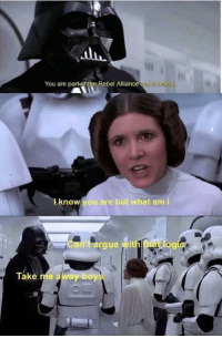 """<p>Gg via /r/memes <a href=""""http://ift.tt/2lGYZxo"""">http://ift.tt/2lGYZxo</a></p>: all  You are part-of the Rebel Alliance and  a trait  ito  l know  ou are but what am i  Cant arge  Take me away bo <p>Gg via /r/memes <a href=""""http://ift.tt/2lGYZxo"""">http://ift.tt/2lGYZxo</a></p>"""
