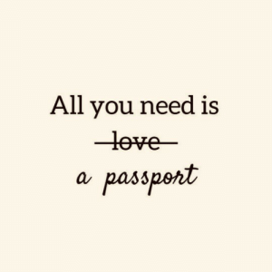 All, You, and  Need: All you need is  -leve-  a passpent