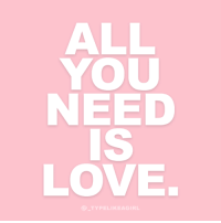 Instagram, Love, and Target: ALL  YOU  NEED  IS  LOVE  TYPELIKEAGIRL Follow @_typelikeagirl for more quotes!