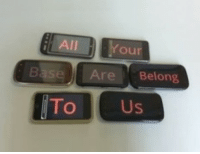 All, All Your Base Are Belong to Us, and Base: All Your  Base Are Belong  To Us