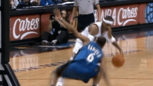 Allen Iverson broke out one of his coldest crossovers ever on this day in 2006.   The Answer dropped Antonio Daniels…twice: Allen Iverson broke out one of his coldest crossovers ever on this day in 2006.   The Answer dropped Antonio Daniels…twice
