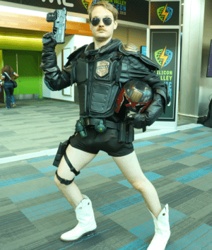 Judge, Silicon, and Law: ALLEY  CON  2019  SILICON  LLEY  DANGLE  IC  H My Judge Dangle Display... I am the law when I new boot goof.
