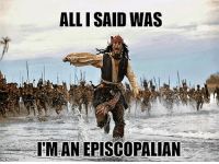 Ally, Episcopal Church , and Fundies: ALLI SAID WAS  ITMANEPISCOPALIAN The Fundies are restless!