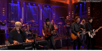 "Streets, Target, and Http: ALLONTONIGHT  MAHA <p><a href=""http://www.nbc.com/the-tonight-show/video/the-doobie-brothers-with-michael-mcdonald-long-train-runnin-medley/2893891"" target=""_blank"">The Doobie Brothers perform a &ldquo;Long Train Runnin&rsquo;&rdquo; and &ldquo;Takin&rsquo; It to the Streets&rdquo; medley with Michael McDonald!</a></p>"