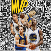 Sports, Ups, and Game: ALLSTAR  RRINCEL  ALL NBR  ARF.  RRIO  DEN  CH  MESTERN @wardell30 will hoist up his MVP trophy in front of the @warriors fans at Oracle Arena tonight before Game 2 🏀🏆