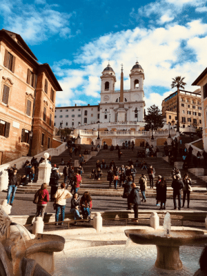 allthingseurope:The Spanish Steps, Rome (by That Photo Taker): allthingseurope:The Spanish Steps, Rome (by That Photo Taker)