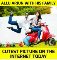 arjun: ALLU ARJUN WITH HIS FAMILY  CUTEST PICTURE ON THE  INTERNET TODAY