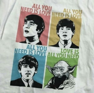 Love, Tumblr, and Blog: ALLYOU ALL vOu  ALL YOU  LOVE IS novelty-gift-ideas:  All You Need is Love T-Shirt