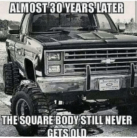 """Double tap for the square body. My favorite! Comment """"Chevy"""" one letter at a time without being interrupted! doubletap Follow @copvideo: ALMOST 80 YEARS LATER  THE SOUARE BODY STILL NEVER Double tap for the square body. My favorite! Comment """"Chevy"""" one letter at a time without being interrupted! doubletap Follow @copvideo"""