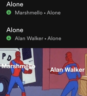 Post Title (required): Alone  Marshmello • Alone  Alone  Alan Walker • Alone  PD  Marshmello  Alan Walker Post Title (required)