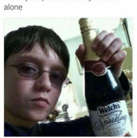 Being Alone, Fancy, and Dank Memes: alone  Welchs  RED GRAPE we fancy adminpic