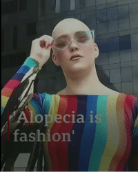 "Fashion, Memes, and Hair: Alopecia i  fashion' ""You can look nice whether you have long hair or absolutely no hair."" Eve and Nichola are both models who have alopecia. They're part of a campaign to challenge perceptions and make the condition more acceptable in the fashion world. alopeciaisfashion fashion alopecia model beauty bbcnews"