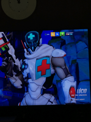 The Mask, Mask, and Skin: ALPHAZOR77  A) EDIT  82 **  20  MEDSEN  LUCIO  68/100 UNLOCKS  R2 WHAT'S NEW? The new Baptiste skin is secretly Lucio under the mask