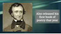 The legendary Edgar Allan Poe was born on this day in 1809!: Also released his  first book of  poetry that year The legendary Edgar Allan Poe was born on this day in 1809!