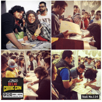 Memes, Comic Con, and India: ALTO  DELHI  COMIC CON  9 10 11 DEC 2016  NSIC EXKIDITION GROUNDS. OKHLA  Stall No.114 Bhai logo aa jaao Comic Con India mai...is Friday Saturday Sunday NSIC Ground Okhla...apna stall hai aur poster free hai..!!! baki tshirts, Books aur hum to honge hi...!! Aayyiieeee...😁😄