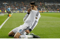 Alvaro Morata is unhappy with his bit-part role at Real Madrid, but the Spaniard will not look to leave the Bernabeu this month.: Alvaro Morata is unhappy with his bit-part role at Real Madrid, but the Spaniard will not look to leave the Bernabeu this month.
