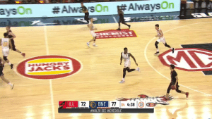 LaMelo Ball's @NBL debut:  12 PTS 6-17 FG 0-5 3PT 10 REB 5 AST 4 STL   🎥 @illawarrahawks    https://t.co/nIWR0joQIo:  #AlwarsOn #AlwaysOn  aysOn  CHEM ST  urTs  HUNGRY  JACKS  ILL 72  BNE 77 04 4:38 (23  NBL  #NBL20 SEE INCREDIBLE LaMelo Ball's @NBL debut:  12 PTS 6-17 FG 0-5 3PT 10 REB 5 AST 4 STL   🎥 @illawarrahawks    https://t.co/nIWR0joQIo