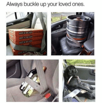 Memes, Buckle, and 🤖: Always buckle up your loved ones.  HOT N READ  HOT N READY  HOTNEREADY  HOT NER Safety first ❤️ Rp my babe @girlsthinkimfunny @girlsthinkimfunny goodgirlwithbadthoughts 💅🏼