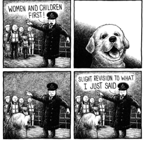 Always. Doggos. First.Comic by @jakelikesonions: Always. Doggos. First.Comic by @jakelikesonions
