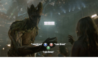 """Memes, Guardian, and Guardians of the Galaxy: am Groot  XO B  """"I am Groot'  """"I am Groot Guardians of the Galaxy Telltale game looks great!!!"""