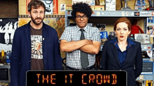 """Am I the only one who's absolutely CERTAIN that it used to be """"IT Crew"""" and not """"IT Crowd""""??? I feel like this is some mandela shit lol: Am I the only one who's absolutely CERTAIN that it used to be """"IT Crew"""" and not """"IT Crowd""""??? I feel like this is some mandela shit lol"""