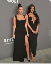 Memes, New York, and Stars: am  MAKING AIDS Stars came with style to the amfAR New York Gala. See so much more at @toofabnews 📷 Getty tmz kimkardashian kourtneykardashian amfar celebrity newyork