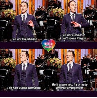 I love Jim Parsons! He's brilliant, he's handsome & sexy as hell! LGBT LGBTUN GLBT JimParsons rainbownation Gay LGBTPride TBBT Homosexual NonBinary Lesbian GayPride Pansexual GenderEquality LGBTI Questioning Agender Intersex Bisexual GenderFluid Transgender LGBTQ LoveIsLove LGBTCommunity LGBTQIA Queer LoveWins: am not a scientist.  I don't speak Klingon  I am not like Sheldon  LGBT  UNITED  But I assure you, it's a vastly  I do have a male roommate  different arrangement. I love Jim Parsons! He's brilliant, he's handsome & sexy as hell! LGBT LGBTUN GLBT JimParsons rainbownation Gay LGBTPride TBBT Homosexual NonBinary Lesbian GayPride Pansexual GenderEquality LGBTI Questioning Agender Intersex Bisexual GenderFluid Transgender LGBTQ LoveIsLove LGBTCommunity LGBTQIA Queer LoveWins