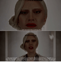 [5x9] - - ahs ahsfx americanhorrorstory americanhorrorstoryseason5 ahshotel hotel ladygaga thecountess: am now more than a century old.  My heart must bejust a few karats at this point. There is room there for very little, so  what still fits inside means more to me than ever. It means everything. The last 100 years of  my immortal life have been a lie. The illusion of control. In truth, have controlled nothing [5x9] - - ahs ahsfx americanhorrorstory americanhorrorstoryseason5 ahshotel hotel ladygaga thecountess