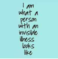 Memes, 🤖, and Invisible Illness: am  what a  Person  with an  invisible  illness  Mooks Do you identify with this?