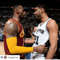 @kingjames shows his respect to Tim Duncan. Don't know how many times we got left to go against one another but I've never have and I never will take them for granted! The consistency you've shown over the years goes unmatched and as a competitor it's always a treat to be competing on the same floor as you! Being a professional(professionalism) is so overlooked in our sport but I always knew who I could look to if I ever wasn't professional about this lovely game and that's You. From one King to Another and to the Greatest PF to Ever play this game, all Love and Respect Timmy D!: ama ii  と  fk  £70/y kingjames  tIdD kingjames @kingjames shows his respect to Tim Duncan. Don't know how many times we got left to go against one another but I've never have and I never will take them for granted! The consistency you've shown over the years goes unmatched and as a competitor it's always a treat to be competing on the same floor as you! Being a professional(professionalism) is so overlooked in our sport but I always knew who I could look to if I ever wasn't professional about this lovely game and that's You. From one King to Another and to the Greatest PF to Ever play this game, all Love and Respect Timmy D!