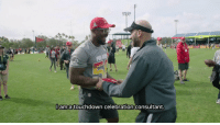 Espn, Memes, and Today: ama touchdown celebration consultant. Boogie Down Brown stopped by #ProBowl practice to put players through a Celebration Bootcamp!  What did they learn? You'll find out TODAY!   📺: 2018 Pro Bowl. 3pm ET on ESPN. (cc: @KeeganMKey) https://t.co/QEDIj5o3WM