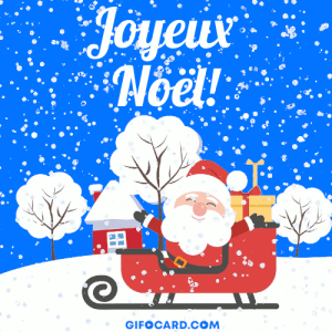 French merry christmas gif ecards – free download, click to send: Amahof  Noel!  GIFOCARD.COM French merry christmas gif ecards – free download, click to send