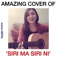 """Found somewhere on Twitter ! Singer : PoZtive VivRe  [[ P.S For more cover like this, you can subscribe her channel ! Link : https://www.youtube.com/channel/UCNEyw1BmCpZVHMFR8hVAM8Q ]]: AMAZING COVER OF  """"SIRI MA SIRI NI Found somewhere on Twitter ! Singer : PoZtive VivRe  [[ P.S For more cover like this, you can subscribe her channel ! Link : https://www.youtube.com/channel/UCNEyw1BmCpZVHMFR8hVAM8Q ]]"""