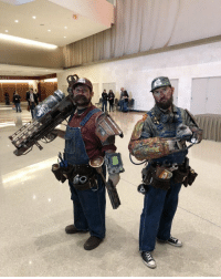 Mario, Cosplay, and Fallout: Amazing Fallout Mario and Luigi cosplay with a bullet bill Fat Man launcher https://t.co/PIhtwnxIpv