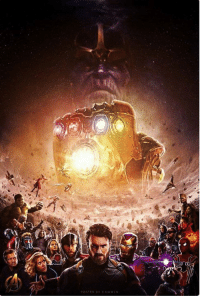 """Memes, Avengers, and Infinity: Amazing fan-made poster for """"Avengers: Infinity War""""! If you know the artist, please credit them in the comments.  (Reilly Johnson)"""