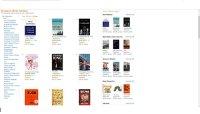 What Happened, Braving the Wilderness, Unbelievable, Princesses Wear Pants. it, Great Again, Fucking Delicious! The titles of the top 7 books on Amazon right now in order!: Amazon Best Sellers  Our most popular products based on sales. Updated hourly  More to Explore in Books  New Releases  Best Sellers in Books  Arts & Photography  Audible Audiobooks  Biographies & Memoirs  Books on  Business & Money  HAPPENED  BRENÉ BROWN  WHAT  HAPPENED  HILLARY  RODHAM  CLINTON  BRAVING HE  WILDERNESS  Unbelievable  The Qued for True  and the Courage o Stand  BRAVING THE  WILDERNESS  ng the Unbelievable...  Hardcover  Hardcover  RODHAM  CLINTON  $17.99 prime $16.80 prime $16.19 prime  Children's  Christian Books & Bibles  Comics &Graphic Novels  Computers & Technology  Cookbooks, Food & Wine  Crafts, Hobbies & Home  Deals in Books  Education & Teac  Engineering &  Transportation  Books  Braving the Wilderness:  >Brené Brown  Unbelievable: My Front...  What Happened  Best Sellers of 2017 (So Far) See Top 100  > Hillary Rodham  ☆☆☆☆☆ 1,368  ar  ar  ar  prime  $16.80 vprime  prime  ar  Paperback  Paperback  $16.79 prime $8.99 prime $9.57 prime  Health, Fitness & Dieting  STEPHEN  REAT  PRINCESSES  Humor & Entertainment  Movers & Shakers  THE SCORE  Libros en español  Literature & Fiction  AMERICA  ONA  Thriller &  us  Parenting & Relationships  Politics & Social Sciences  Reference  Religion & Spirituality  Romance  Science & Math  Science Fiction & Fantasy  Self-Help  Sports & Outdoors  Teens  Test Preparation  Textbooks  Travel  se  Great Again: How to Fix  Princesses Wear Pants..  Savannah Guthrie  It: A Novel  The Score of.. Great Again..Crippled  Paperback  $19.95 prime $10.19 prime $17.50 prime  Stephen King  Donald J. Trump  Paperback  Hardcover  Paperback  $13.13 prime  Paperback  $10.19 vprime  $10.47 prime  Most Wished For  Anima  NSUBTLE  DOGMAN  A Tale o THo KiTries  FOLLETT  The Subtle...  ouc  Board book  Board book  ar  $5.06 prime $6.89 prime $14.99 vprime  olumn  A