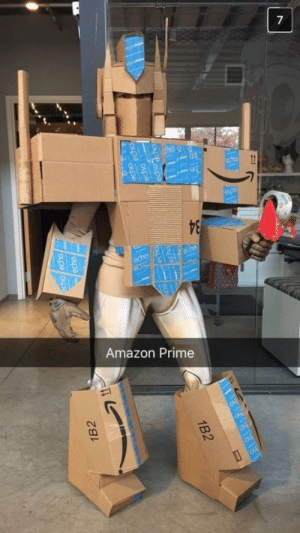 Amazon, Amazon Prime, and Meme: Amazon Prime Hopefully Everyone Shouted Amazon bots, roll out! at This Awesome Costumehttp://meme-rage.tumblr.com