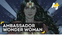 Books, Memes, and Book: AMBASSADOR  WONDER WOMAN A comic book character is the UN's latest Honorary Ambassador.