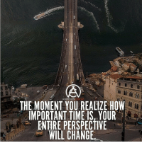 Memes, Time, and Ambition: AMBITION  THE MOMENT YOU REALIZE HOW  IMPORTANT TIME IS YOUR  ENTIRE PERSPECTIVE  WILL CHANGE Once you realize what you can do with time, your perspective will change! - DOUBLE TAP IF YOU AGREE!