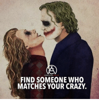 Crazy, Love, and Memes: AMBITIONCIRCLE  FIND SOMEONE WHO  MATCHES YOUR CRAZY. Find someone who's as crazy as you! - DOUBLE TAP AND TAG YOUR LOVE 😍